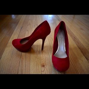 Jessica Simpson Red Pumps 5.5